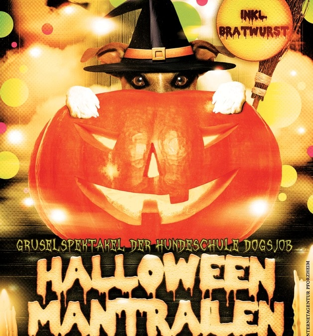 Halloween-Flyer im Corporate Design
