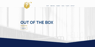 Neue Webseite: Julia Hartwig | Out of the Box